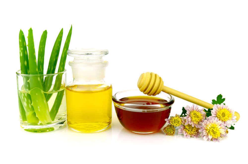 Honung och aloe