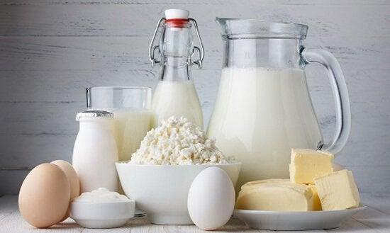 Kalcium i laktosprodukter