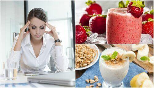 Skaka av dig morgontröttheten med 5 naturliga smoothies