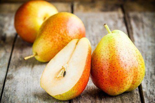 päron på bord