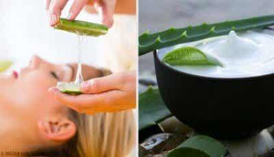 Fantastiska naturliga sminkborttagare med aloe