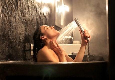 Använd vattenterapi