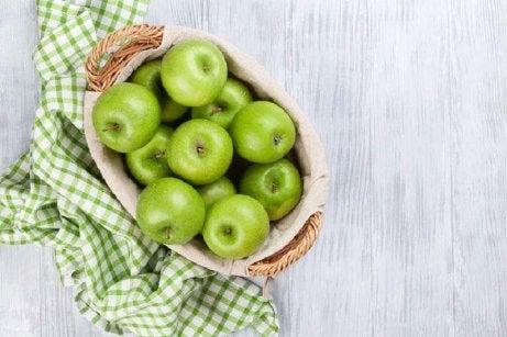 Ät gröna äpplen