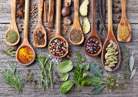 Använd kryddor regelbundet