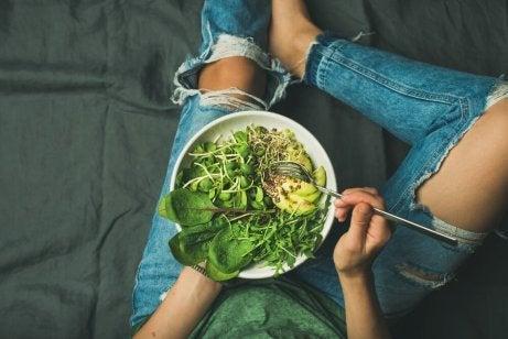 Ät sallad dagligen