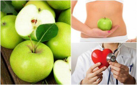 7 anledningar att äta ett grönt äpple på tom mage