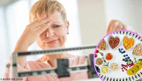 En perfekt diet för att tappa vikt under klimakteriet