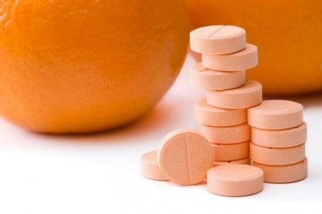 C-vitaminens sura pH-värde är bra mot vårtor