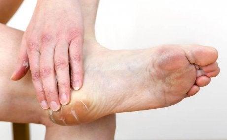 Fuktkräm för fötterna