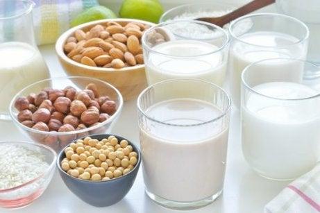 olika livsmedel med kalcium