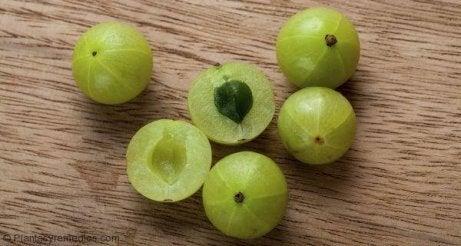 Krusbär har många antioxidanter