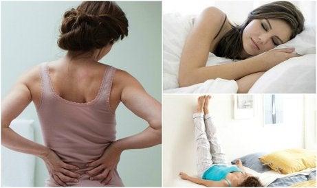 Bli av med ländryggssmärta; 7 saker du kan göra