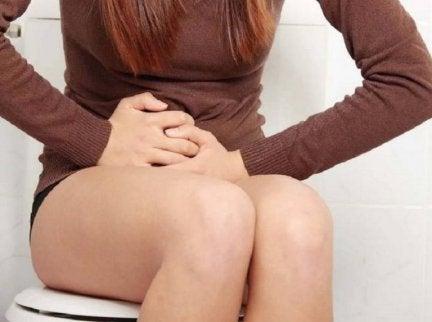 Minskad urinering