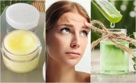 5 naturliga behandlingar för att mjuka upp rynkor i pannan