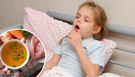 6 naturliga och hälsosamma hostmediciner för barn