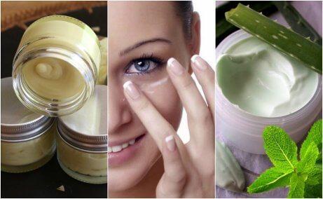 5 naturliga ögonkrämer för frisk hy