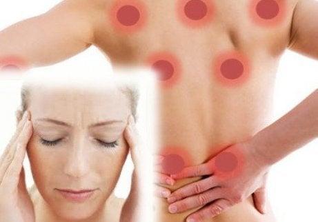 Det finns olika typer av fibromyalgi