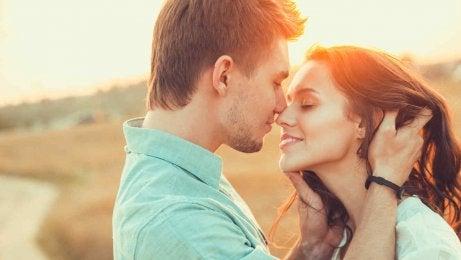 Var uppmärksam när du kysser