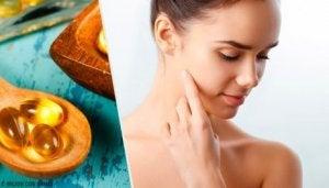 E-vitaminkapslar för huden