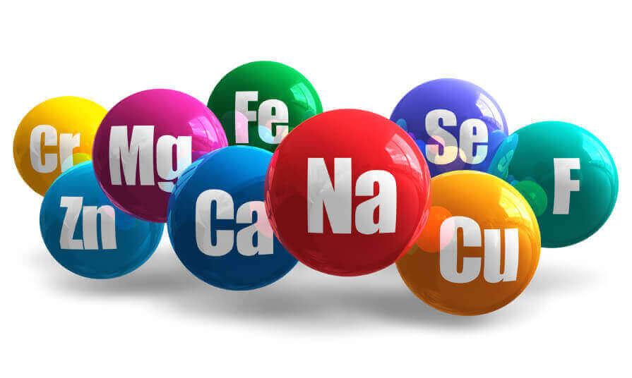 Bollar med kemiska tecken