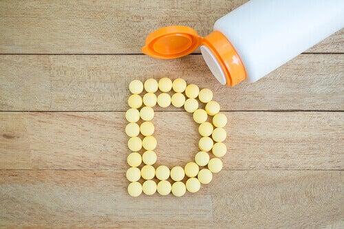 Brist på vitamin D