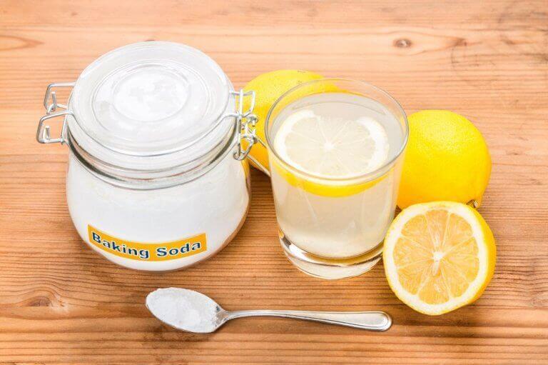 Citron och bikarbonat