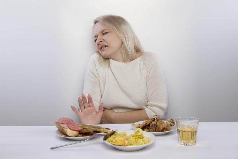 Undvik vissa livsmedel