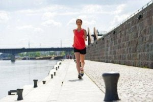 jogging utomhus
