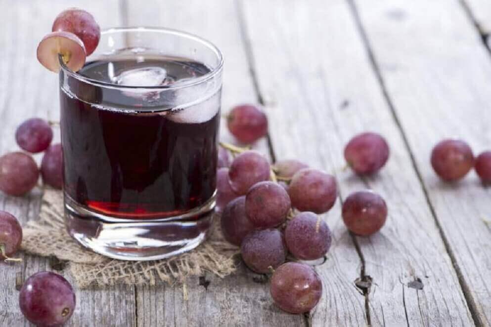 Juice med druvor