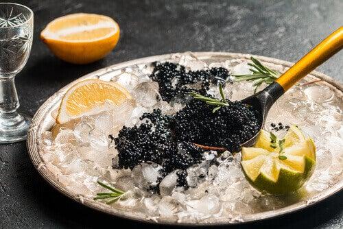 Kaviar och citron