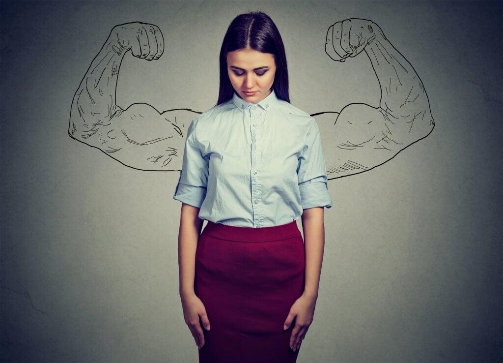 Det handlar inte om att låtsas vara stark, utan om att verkligen vara det