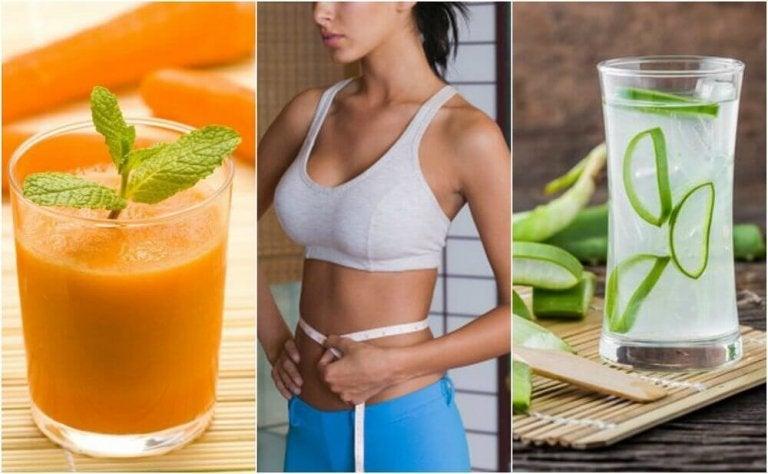 5 juicer som hjälper dig att slimma magen