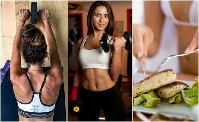 Snabba tips för att bygga muskelmassa och bränna fett