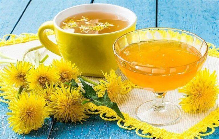 Te på maskrosor för levern