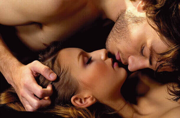 Par som kysser