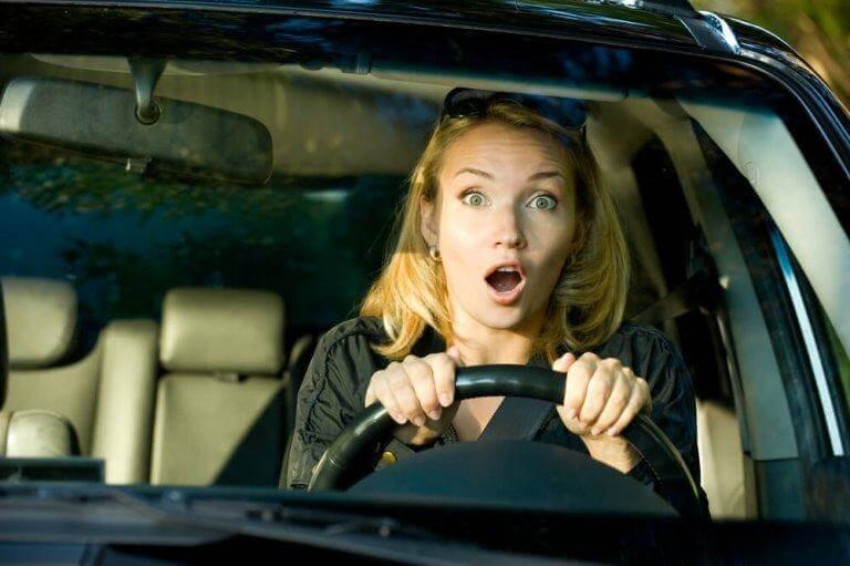 De som är rädda för att köra bil begränsar sin vardag
