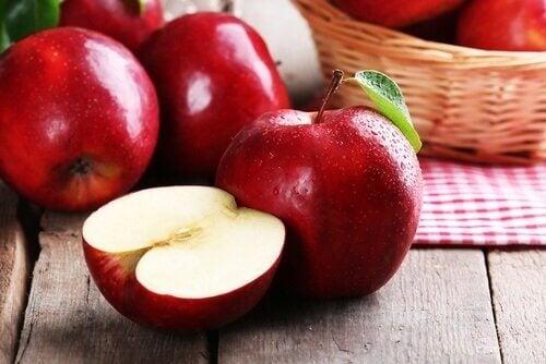 Skivat äpple
