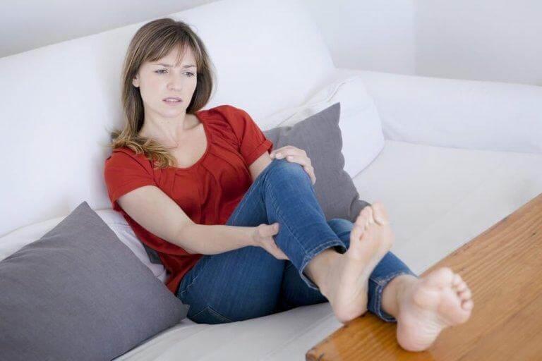 blodpropp arm symptom