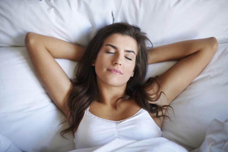 Man sover bättre om man har en saltlampa