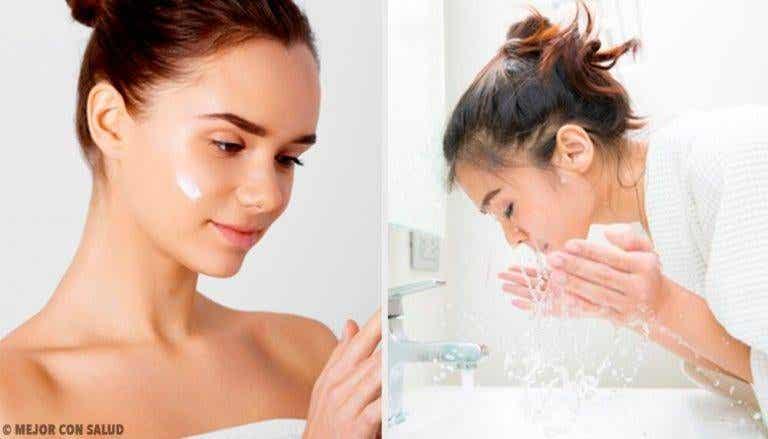 Vanliga misstag när man tvättar ansiktet