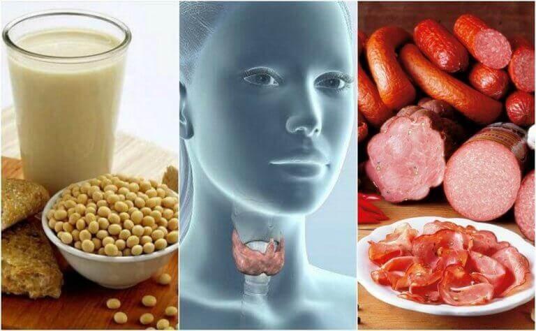7 livsmedel att undvika vid hypotyreos