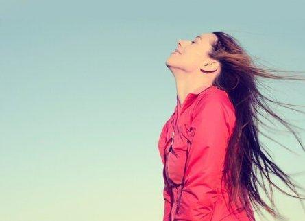 Att andas är ett av de enkla sätt att gå ner i vikt