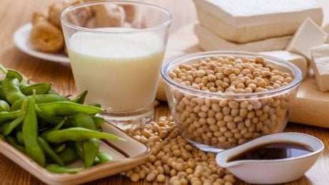 Soja innehåller fytoöstrogen