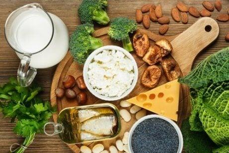 Kalcium förebygger osteoporos