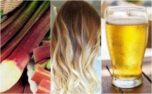 bleka håret hemma naturligt