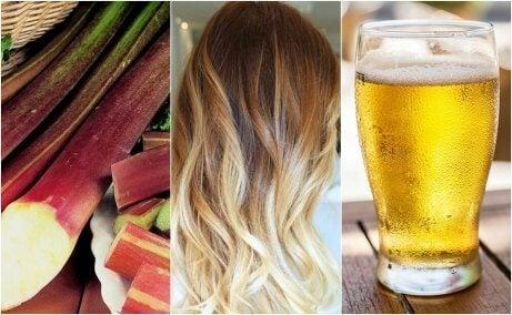 5 effektiva sätt att bleka håret naturligt
