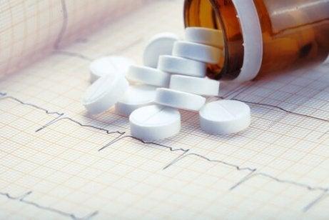 Bieffekter av aspirin