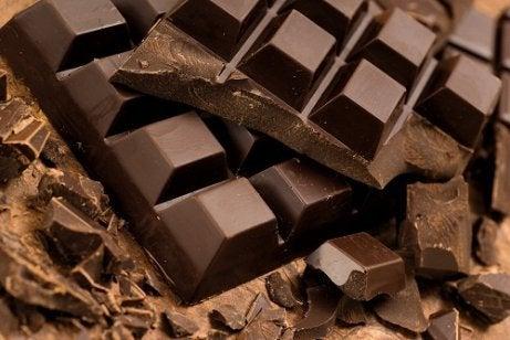 Choklad är inte bra på kvällen