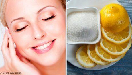citron bra för huden