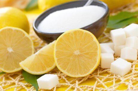 Citron och socker